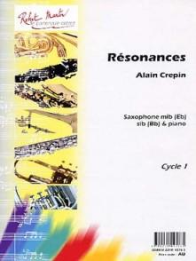CREPIN A. RESONANCES SAXO MIB OU SIB