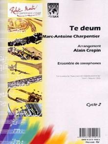 CHARPENTIER M.A. TE DEUM SAXOS