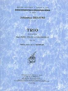BRAHMS J. TRIO OP 101 VIOLON VIOLONCELLE PIANO
