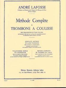 LAFOSSE A. METHODE COMPLETE DE TROMBONE A COULISSE VOL 2