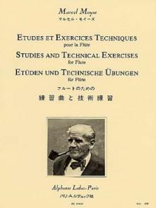 MOYSE M. ETUDES ET EXERCICES TECHNIQUES FLUTE
