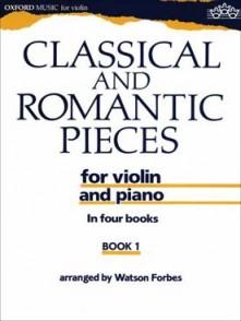 CLASSICAL AND ROMANTIC PIECES VOL 1 VIOLON