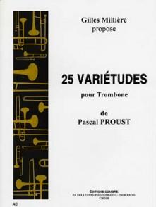 PROUST P. VARIETUDES TROMBONE SOLO