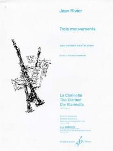 RIVIER J. MOUVEMENTS: CHORAL CLARINETTE