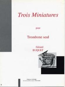 BUQUET G. MINIATURES TROMBONE SOLO