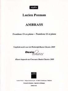 POSMAN L. AMBRASS TROMBONE