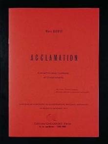 BLEUSE M. ACCLAMATION TROMBONE