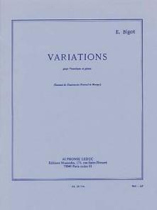 BIGOT E. VARIATIONS TROMBONE