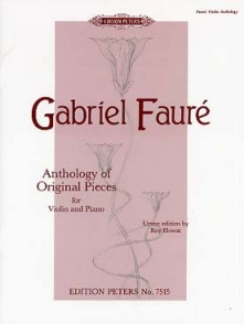 FAURE G. ANTHOLOGY PIECES VIOLON
