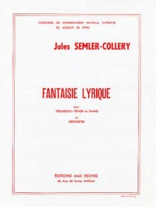 SEMLER-COLLERY J. FANTAISIE LYRIQUE TROMBONE