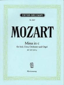 MOZART W.A. MISSA IN C MINOR KV 427 CHANT