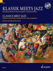 CLASSICS MEET JAZZ VOL 1 PIANO