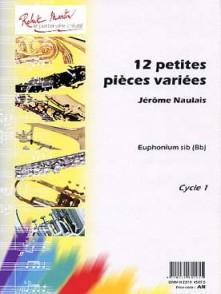 NAULAIS J. PETITES PIECES VARIEES EUPHONIUM SIB