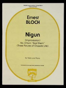 BLOCH E. NIGUN VIOLON