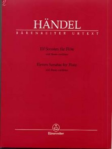 HAENDEL G.F. 11 SONATES FLUTE PIANO