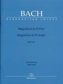 BACH J.S. MAGNIFICAT RE MAJEUR BWV 243 CHANT