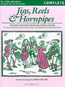 HUWS JONES E. JIGS, REELS & HORNPIPES VIOLON