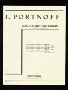 PORTNOFF L. FANTAISIE RUSSE N°2 VIOLON