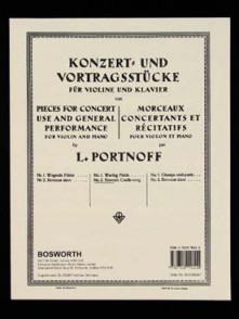 PORTNOFF L. BERCEUSE SLAVE VIOLON