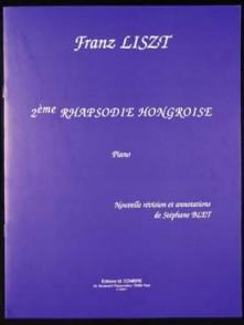 LISZT F. RHAPSODIE HONGROISE N°02 PIANO