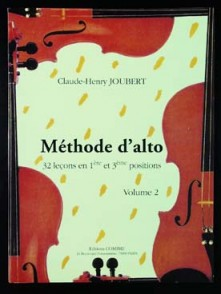 JOUBERT C.H. METHODE D'ALTO VOL 2