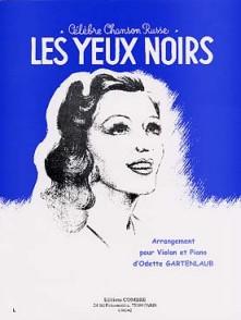LES YEUX NOIRS VIOLON