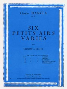 DANCLA C. PETIT AIR VARIE N°2 VIOLON