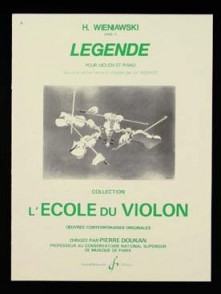 WIENIAWSKI H. LEGENDE VIOLON
