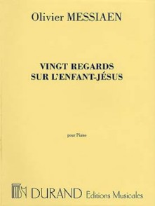 MESSIAEN O. VINGT REGARDS SUR L'ENFANT JESUS PIANO
