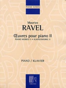 RAVEL M. OEUVRES POUR PIANO VOL 2