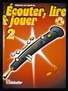 ECOUTER LIRE JOUER VOL 2 HAUTBOIS