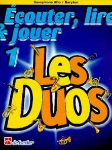 ECOUTER LIRE JOUER : LES DUOS VOL 1 SAXOPHONES