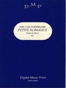 VAN DORSSELAER W. PETITE ROMANCE HAUTBOIS