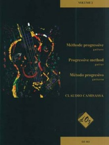CAMISASSA C. METHODE PROGRESSIVE VOL 2 GUITARE