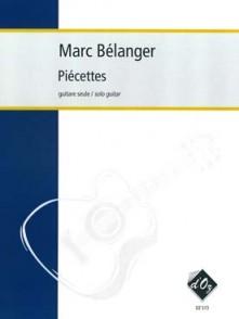 BELANGER M. PIECETTES GUITARE
