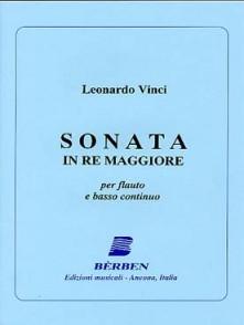 VINCI L. SONATE RE MAJEUR FLUTE
