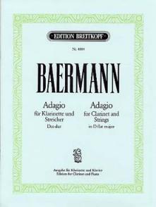 BAERMAN H.J. ADAGIO MIB MAJEUR CLARINETTE