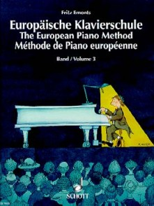 EMONTS F. METHODE DE PIANO EUROPEENNE VOL 3