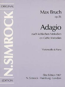 BRUCH M. ADAGIO OP 56 VIOLONCELLE