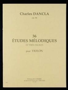 DANCLA C. 36 ETUDES MELODIQUES VIOLON