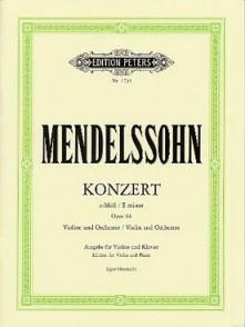 MENDELSSOHN F. CONCERTO E MINOR VIOLON