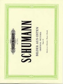 SCHUMANN R. ORIENTAL PICTURES OP 66 PIANO 4 MAINS