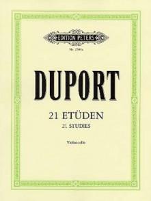 DUPORT J.L. 21 ETUDES VIOLONCELLE