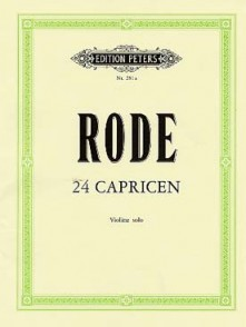 RODE P. 24 CAPRICES VIOLON