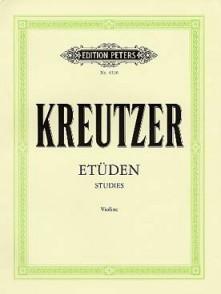 KREUTZER R. 42 ETUDES VIOLON