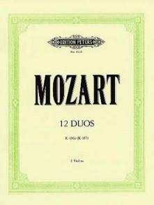 MOZART W.A. 12 DUOS K 487 VIOLONS