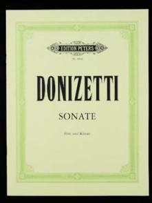 DONIZETTI G. SONATE DO MAJEUR FLUTE