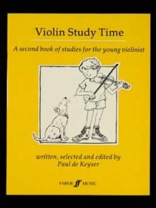 KEYSER (DE) P/ VIOLIN STUDY TIME VIOLON