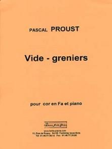PROUST P. VIDE GRENIER COR