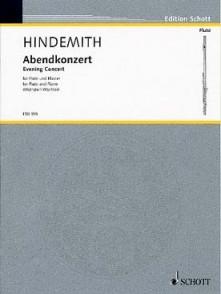 HINDEMITH P. ABENDKONZERT FLUTE